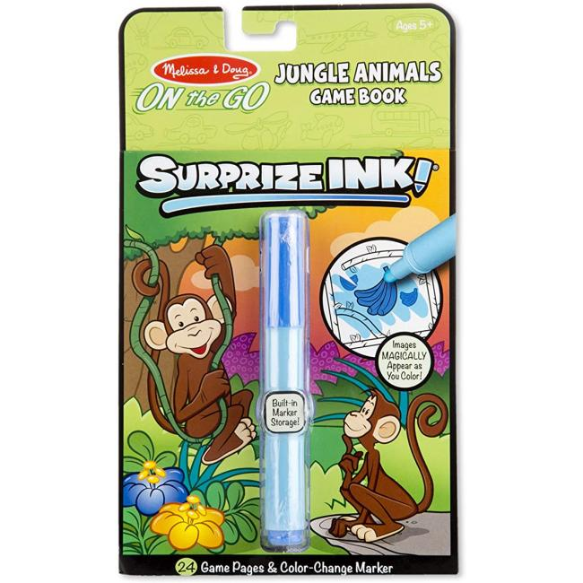 Melissa & Doug On The Go Surprize Ink! Jungle Animals Activity Book
