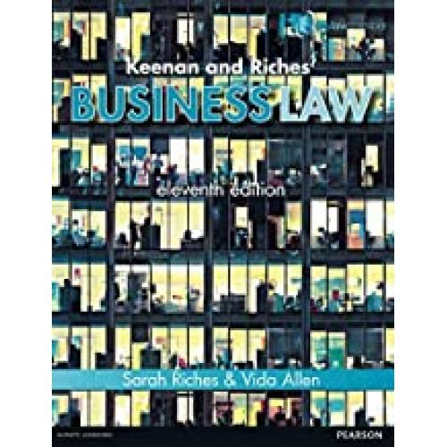 Keenan and Riches' Business Law 11th edn