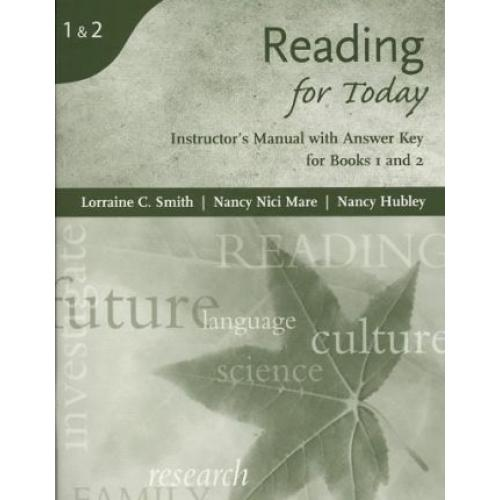 Themes and Insights for Today: Instructor's Manual Level 1-2 : Instructor's Manual with Answer Key for Books 1 and 2