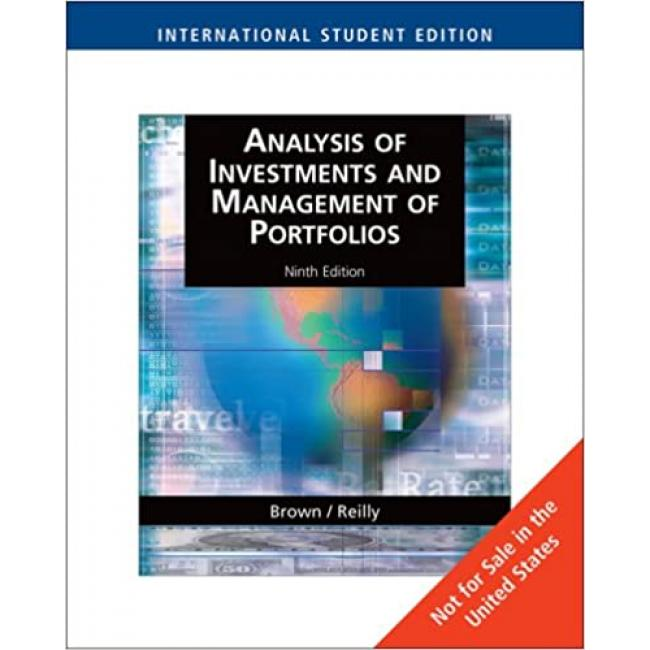 Analysis of Investments and Management of Portfolios: WithThomson One - Business School Edition Paperback